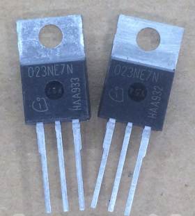 023NE7N IPP023NE7N3G TO-220 75V 120A 5pcs/lot