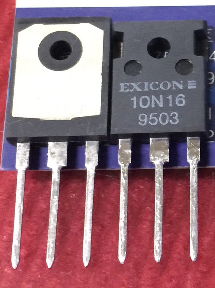 10N16 10P16 EXICON New Original pair