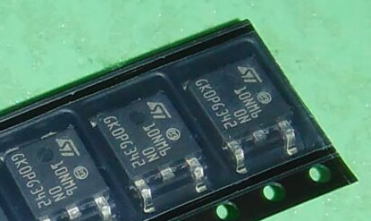10NM60N TO-252 5PCS/LOT