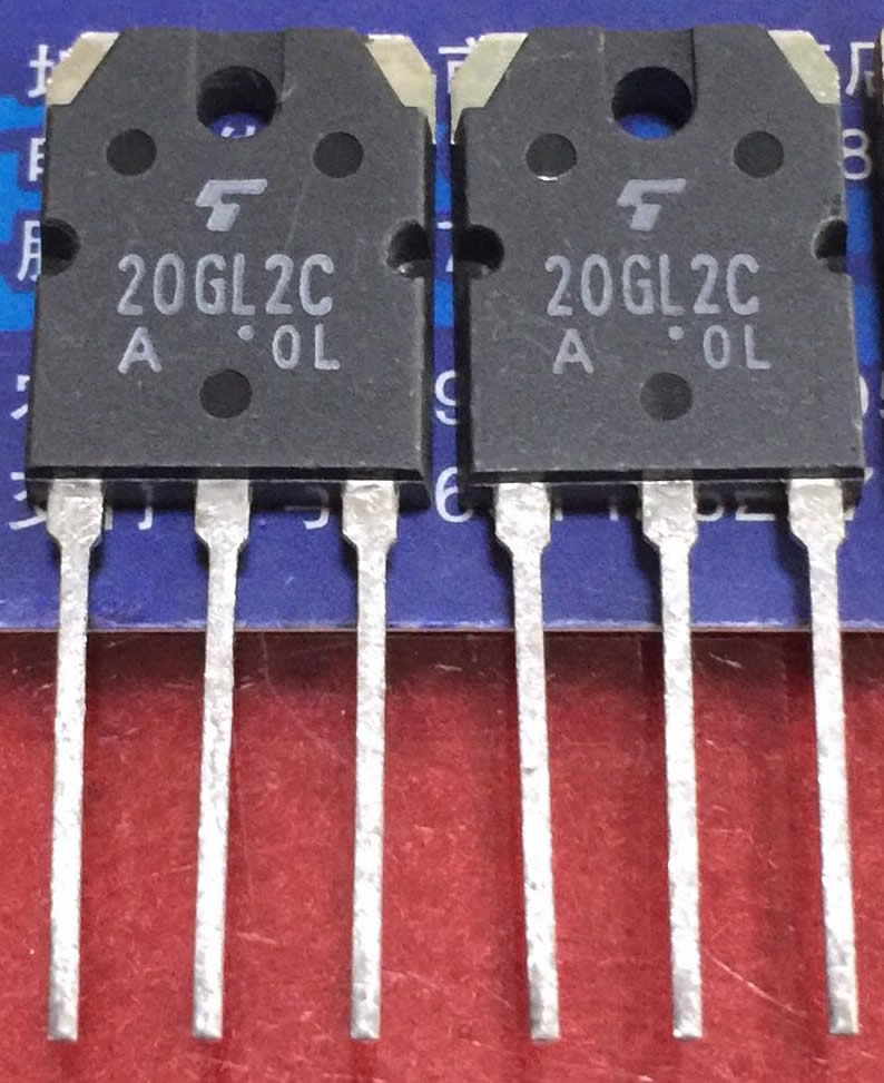 20GL2C TO-3P toshiba 5pcs/lot