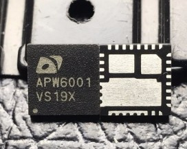APW6001 APW6001QBI-TRG QFN 5pcs/lot
