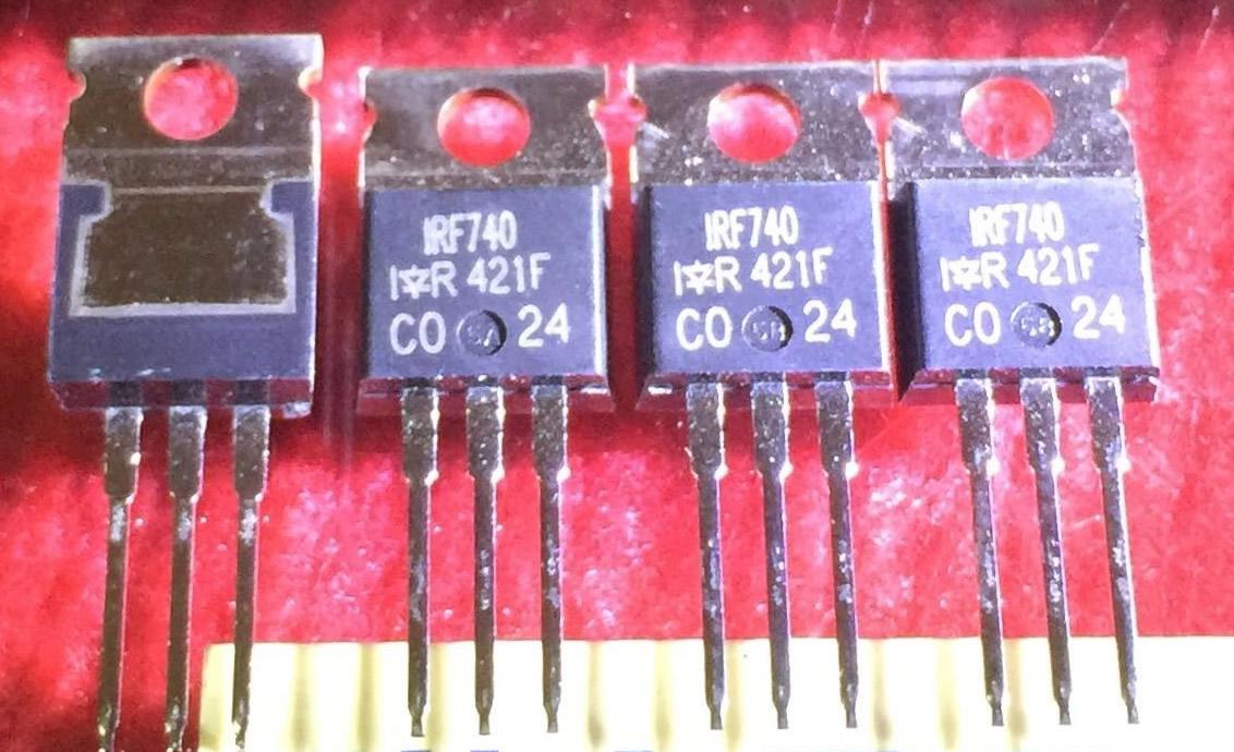 5pcs IRF740 NEW Genuine IR TO-220
